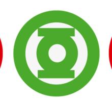 SUPERHEROES´ LOGOS Sticker