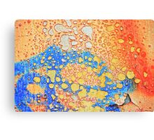 Weathered and peeling Canvas Print