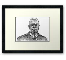 Captain Holt Framed Print