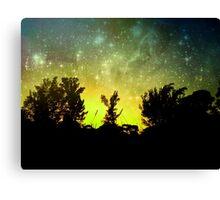 Starry Florida Sunset Canvas Print