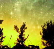 Starry Florida Sunset Sticker