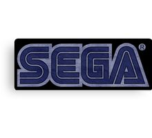°GEEK° Sega Denim Logo Canvas Print