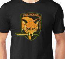 °METAL GEAR SOLID° Fox Hound Rust Logo Unisex T-Shirt