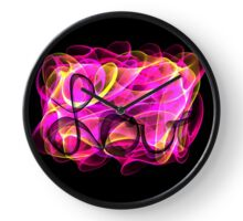 Colorful Love Clock