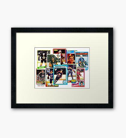 NHL Legends of the 80s Framed Print