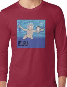 Tiny Rick - Let Me Out Long Sleeve T-Shirt