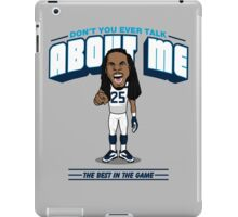 """VICTRS """"Don't You Ever Talk About Me"""" iPad Case/Skin"""