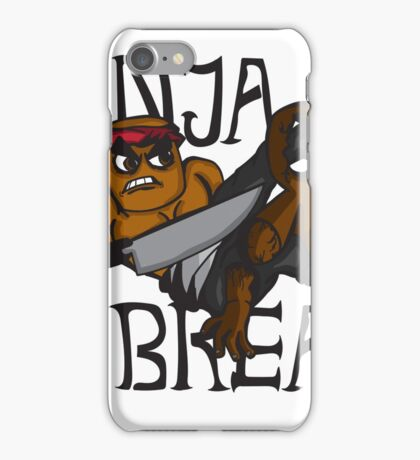 Ninja Bread iPhone Case/Skin