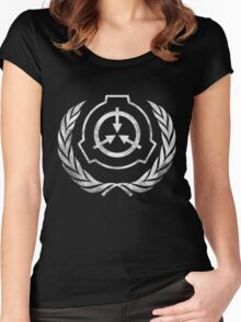 SCP Foundation  Women's Fitted Scoop T-Shirt