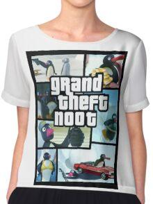 Grand Theft Noot Chiffon Top