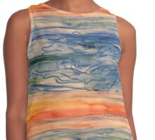 Evening magic Contrast Tank
