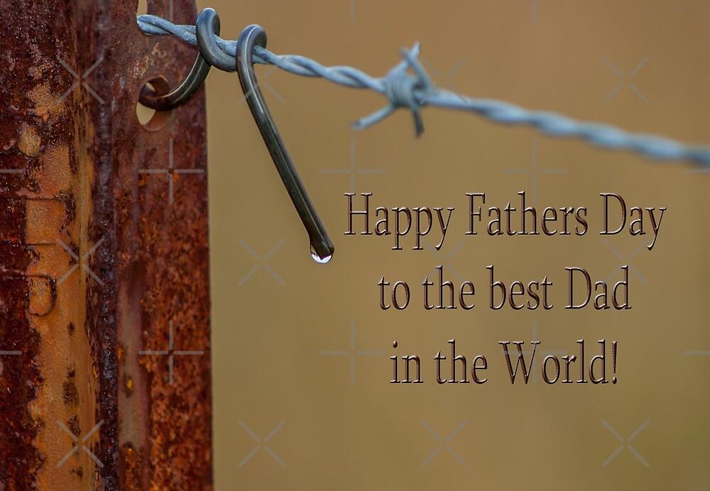 Happy Fathers Day - Droplet II by Deborah McGrath