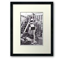 Ariana Grande Framed Print
