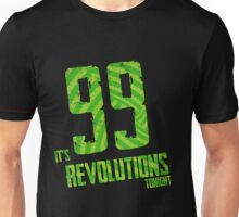 99 Revolutions: Green, No Logo Unisex T-Shirt
