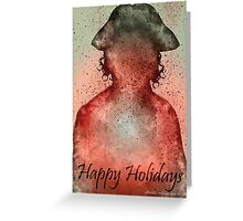 Heart of fire ~ Happy Holidays Greeting Card