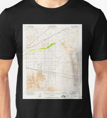 USGS TOPO Map California CA Newberry 298363 1955 62500 geo Unisex T-Shirt