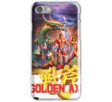 Golden Axe Japanese Cover  iPhone Case/Skin