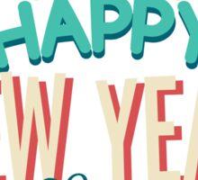 New Year enjoy  Sticker