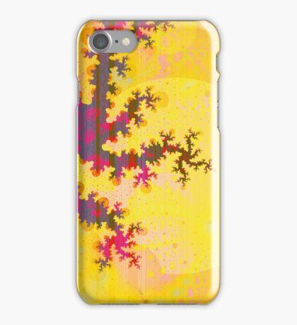 Oriental Moon Behind My Courtain iPhone Case/Skin
