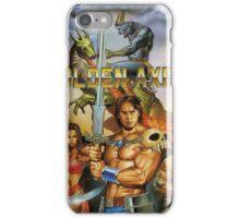 Golden Axe III Sega Genesis Japanese Cover iPhone Case/Skin