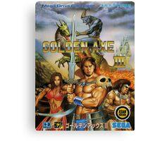 Golden Axe III Sega Genesis Japanese Cover Canvas Print