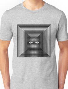 Feline The Line Cat Unisex T-Shirt