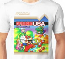 NES Super Mario Brothers 2 - Japanese Cover  Unisex T-Shirt