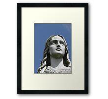 Statue Framed Print