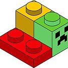 Minecraft lego  by Scott Barker