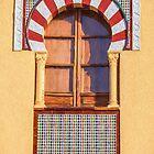 Arabic Window Of Spain by David Letts
