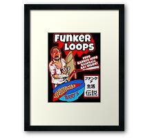 Funk Loops Framed Print