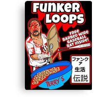 Funk Loops Canvas Print