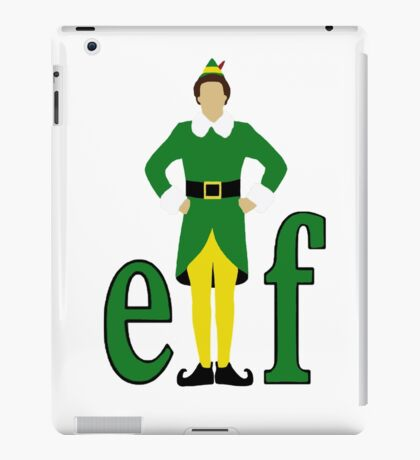 Elf, Buddy the Elf iPad Case/Skin