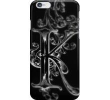 iPhone Case old print ornament embellishment K iPhone Case/Skin