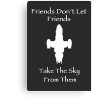 Friends Series - Firefly Canvas Print