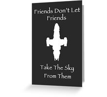Friends Series - Firefly Greeting Card