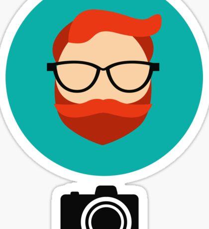Photographer blogger Sticker