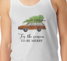 Christmas vacation, tis the season to be merry Tank Top