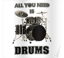 All You Need Is Drums Poster