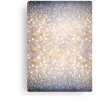 Glimmer of Light (Ombré Glitter Abstract) Metal Print