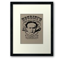Houdini's Magic Shop Framed Print