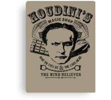 Houdini's Magic Shop Canvas Print
