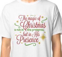 The Magic Of Christmas Classic T-Shirt
