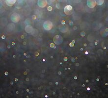 There Can Be No Light (Ombré Glitter Abstract) by soaringanchor