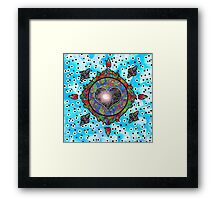 Love Seed NO.104, ''Life's Compass''  Framed Print