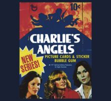 Vintage Charlie's Angels Topps Trading Cards Box One Piece - Long Sleeve
