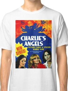 Vintage Charlie's Angels Topps Trading Cards Box Classic T-Shirt