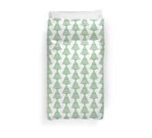 Ugly Christmas Sweater Tree Pattern Duvet Cover
