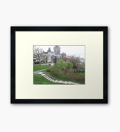 Quebec City Framed Print