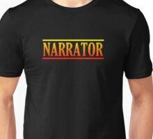 Colorful narrator Unisex T-Shirt